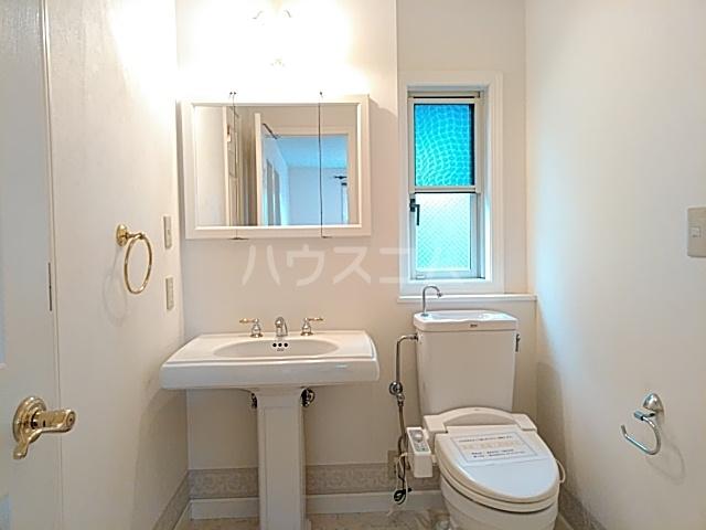 毛利台1丁目貸家の洗面所
