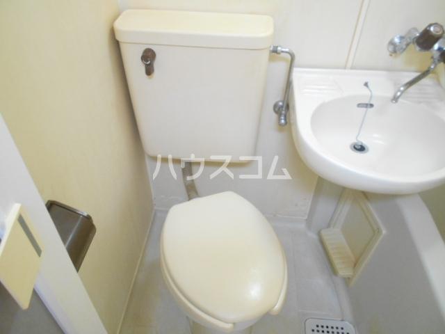 オレンジハイツ 103号室のトイレ