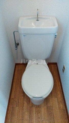 サンガーデニア龍禅寺のトイレ