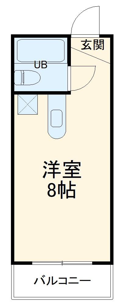 中沢シティハイツガーデン・111号室の間取り