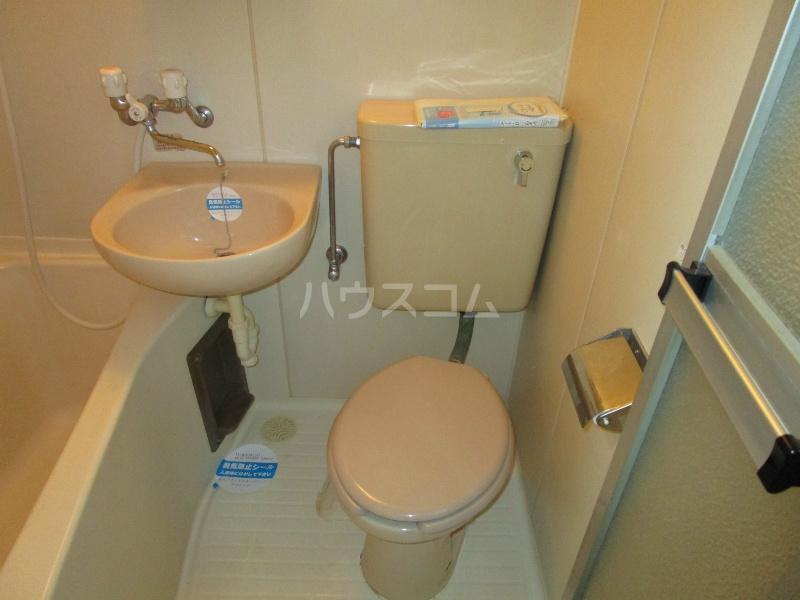 中沢シティハイツガーデン 515号室のトイレ