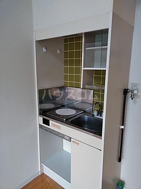 スカイピア亀有A 204号室のキッチン