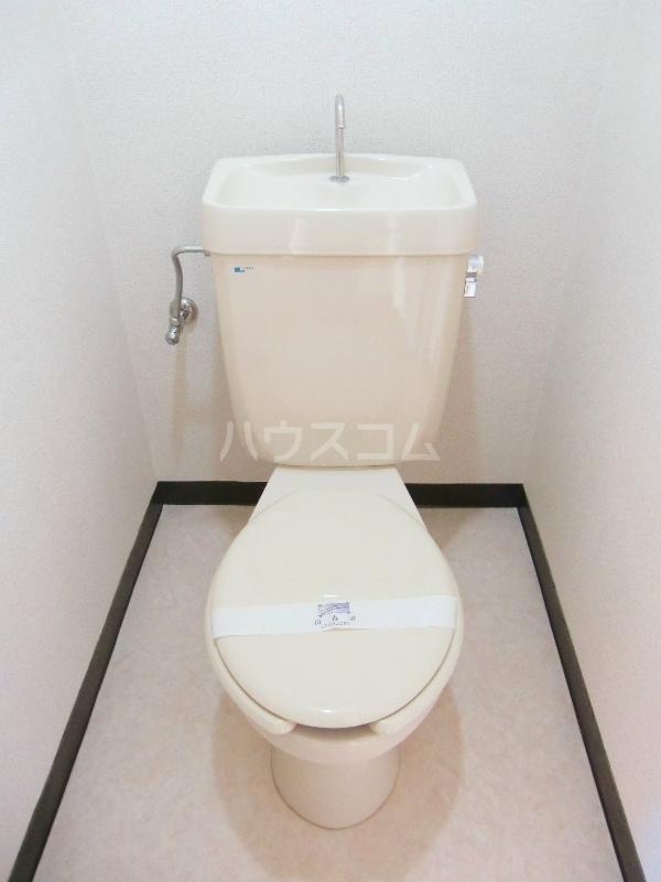 シャンブル永野 301号室のトイレ
