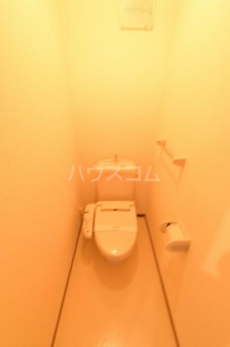 ヴィラージュ川入A 101号室のトイレ