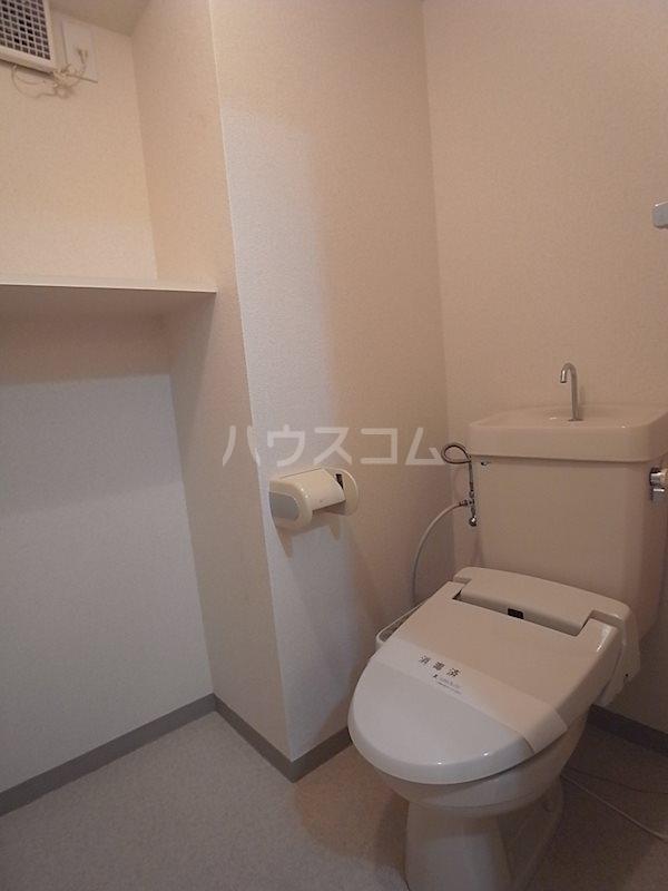 トピア清龍Ⅱ 203号室のトイレ