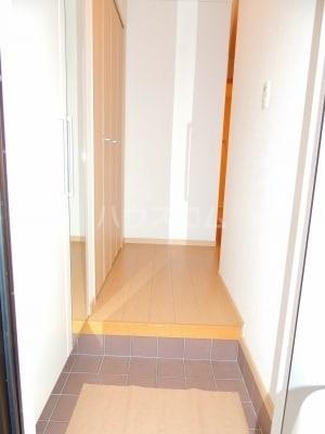 ネオシスB 01030号室の玄関