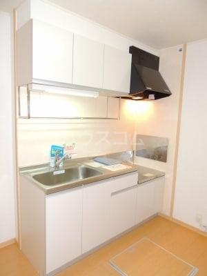 ネオシスB 01030号室のキッチン