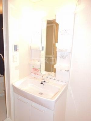 ネオシスB 01030号室の洗面所