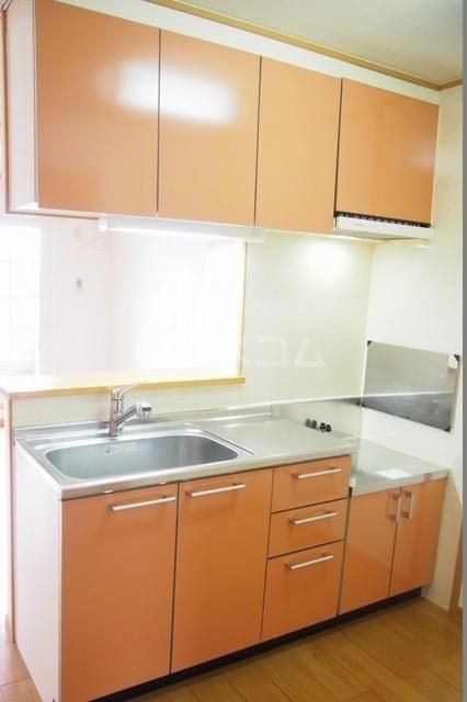 サニーハウス 02010号室のキッチン