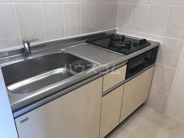 ダフネ 203号室のキッチン