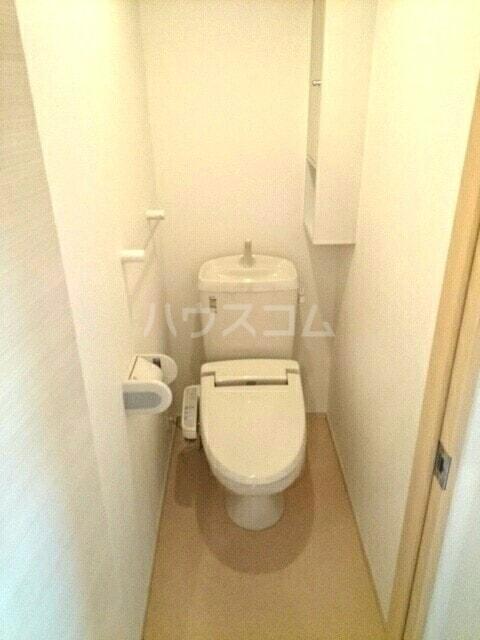 ラベリー・サイル Ⅱ 01030号室のトイレ