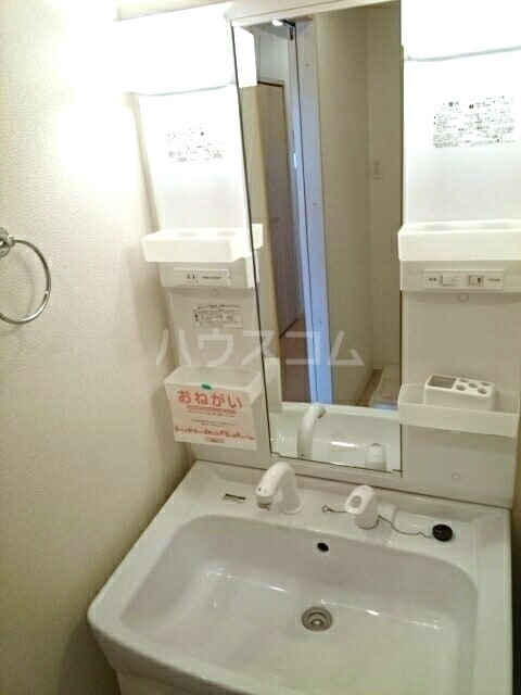 ラベリー・サイル Ⅱ 01030号室の洗面所