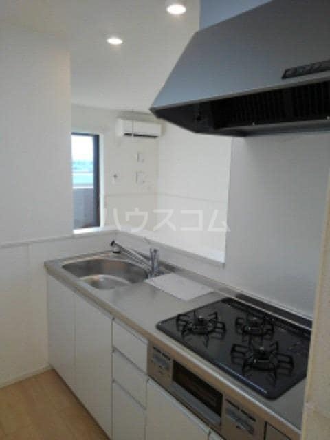グレイスフル Ⅲ 02010号室のキッチン