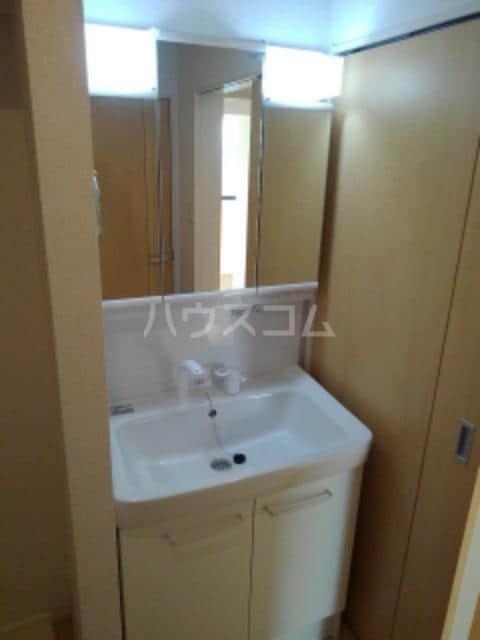 グレイスフル Ⅲ 02010号室の洗面所