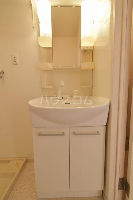 エスペランサB 102号室の洗面所