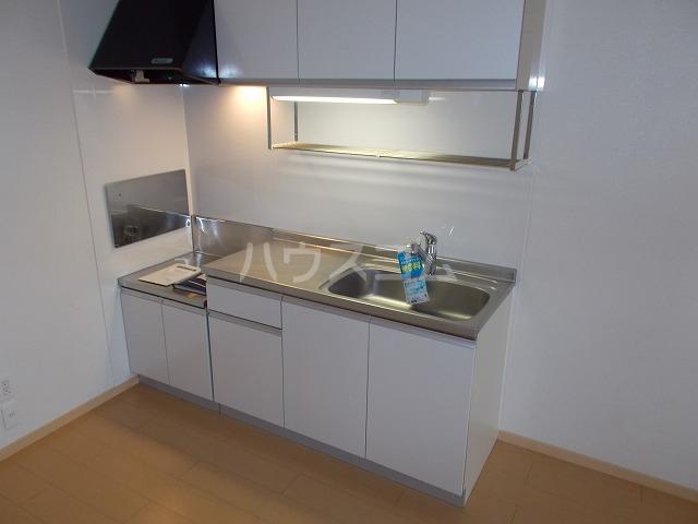 ランドマーク・レーヴB 02020号室のキッチン