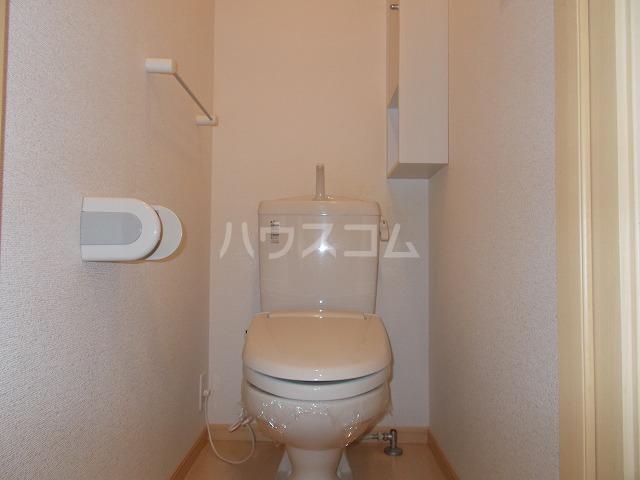 ランドマーク・レーヴB 02020号室のトイレ