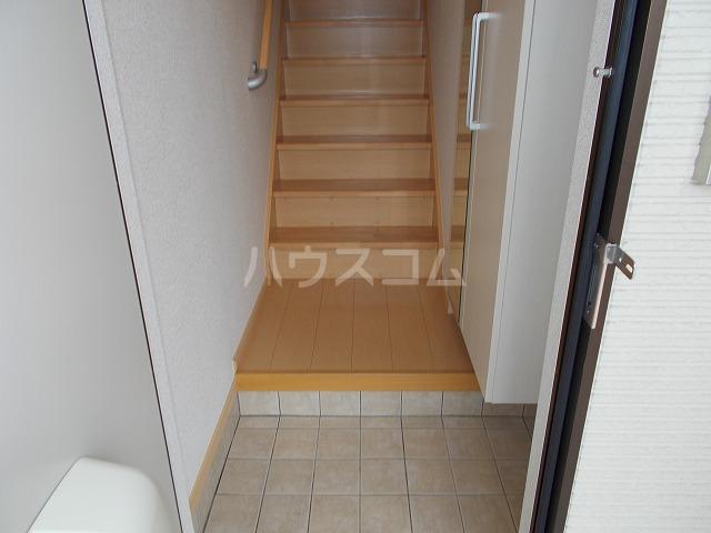 ランドマーク・レーヴB 02020号室の玄関