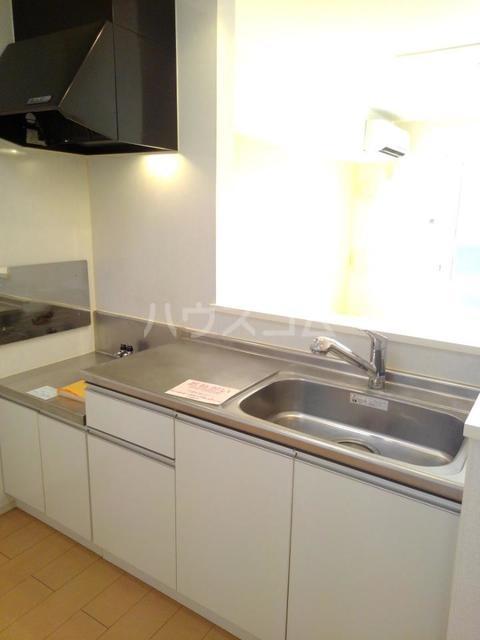 カーサ・ブランドール C 02020号室のキッチン