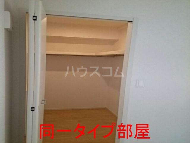 ウイステリアA棟 01020号室の収納