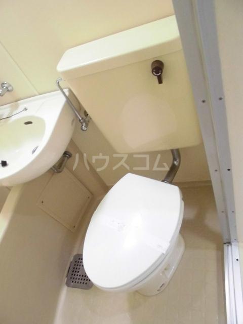 SUN 103号室のトイレ