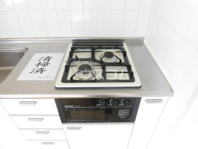 アフェールJ海神 403号室のキッチン