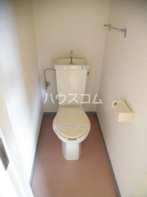 アフェールJ海神 403号室のトイレ