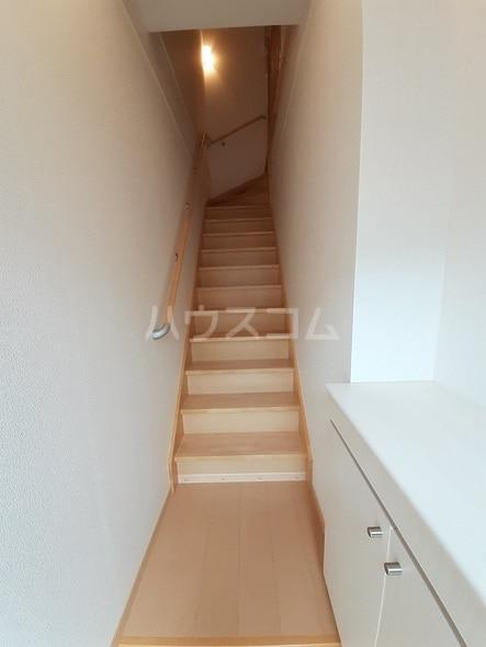 サン・フィールド ⅡB 02030号室の玄関