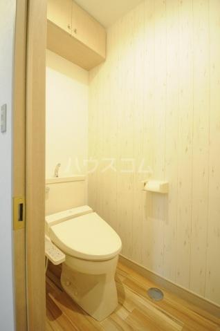 メリディアンガーデン雪月花 307号室のトイレ