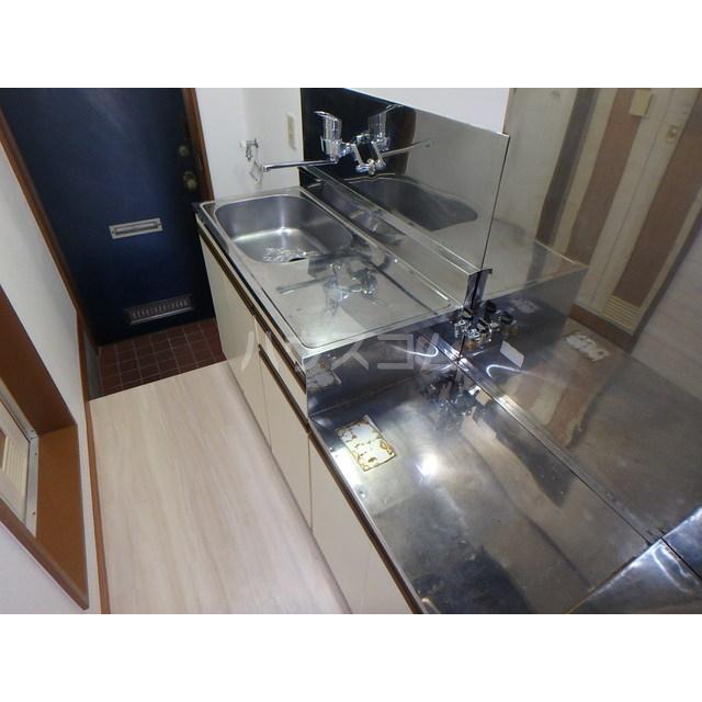スペースぬるみず 102号室のキッチン