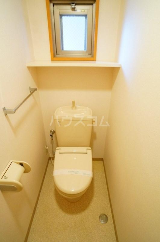 フェニシアン 402号室のトイレ