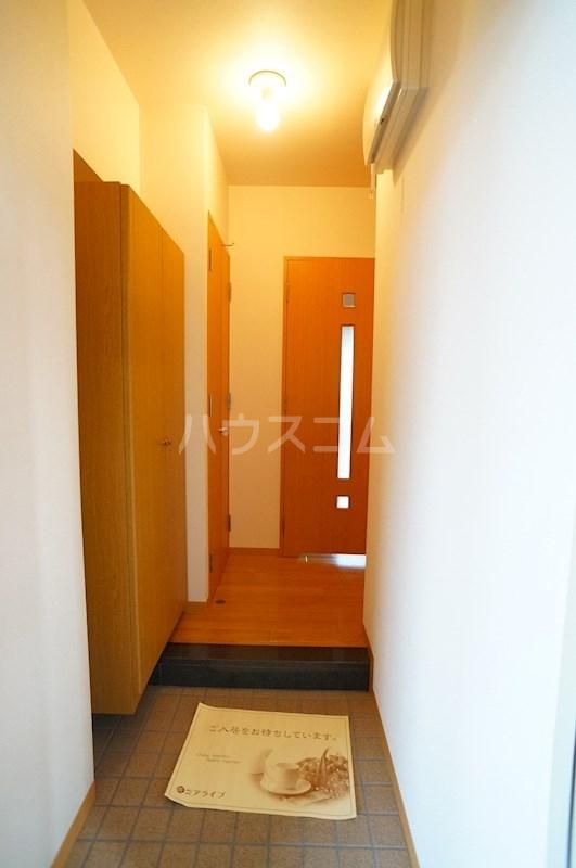 フェニシアン 402号室の玄関