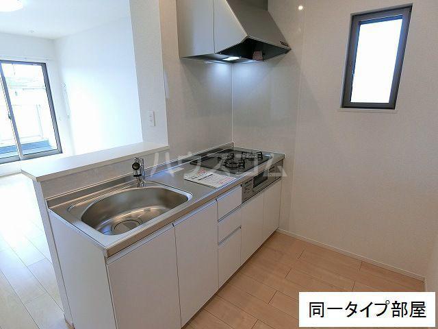 M・プラム Ⅱ 02020号室のキッチン