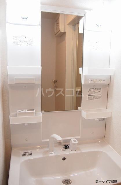 M・プラム Ⅱ 02020号室の洗面所
