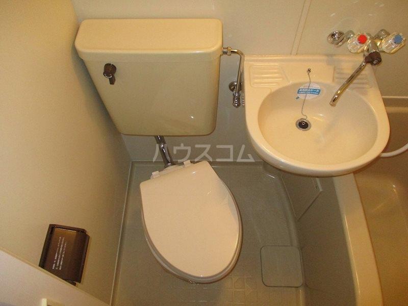 上島ロイドアパートC 201号室のトイレ