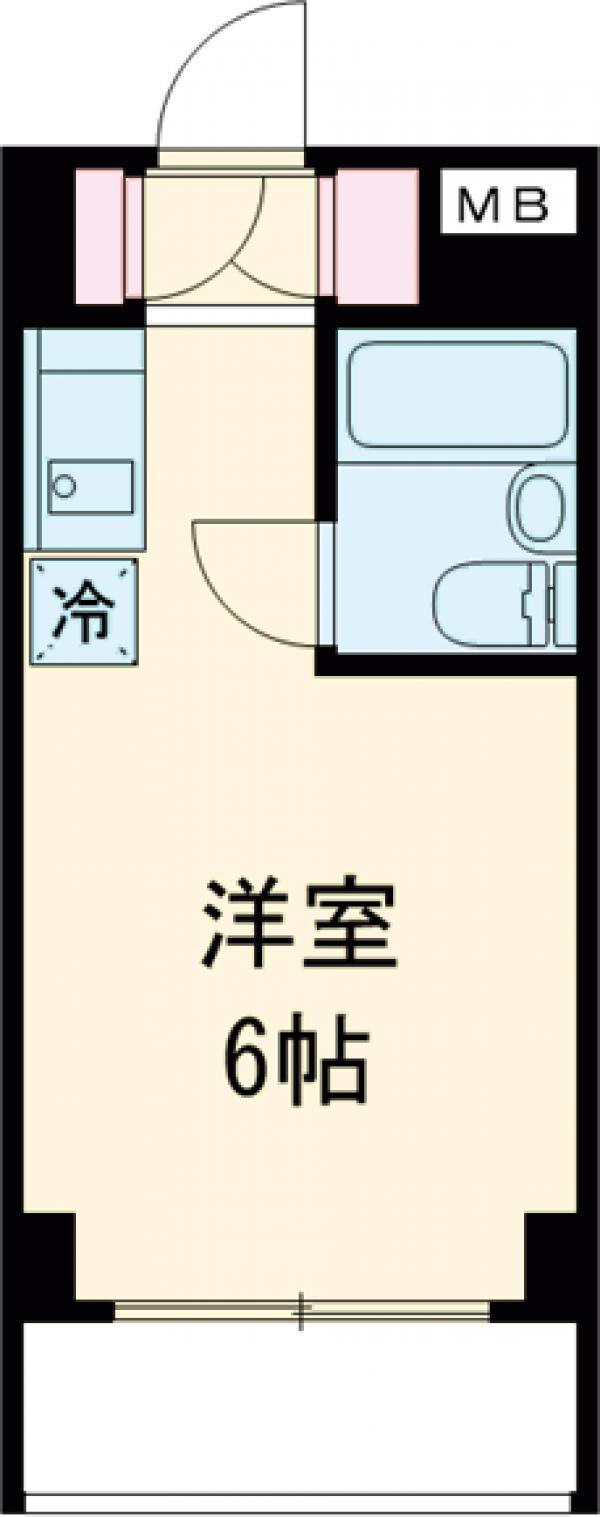 TOP東村山 A棟・104号室の間取り