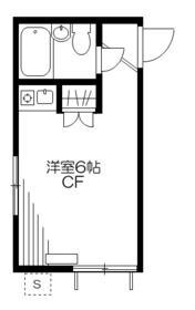 笹塚ハイツ・105号室の間取り