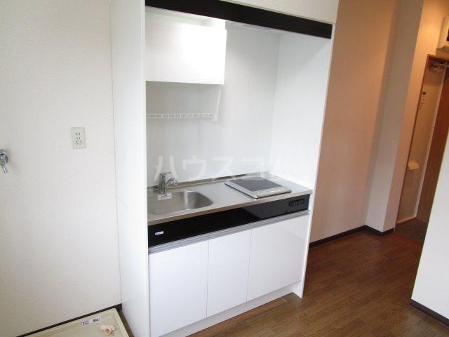 サンフォーレⅡ 205号室のキッチン