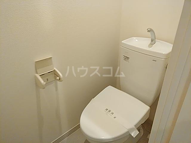 リブリ・西大井 205号室のトイレ