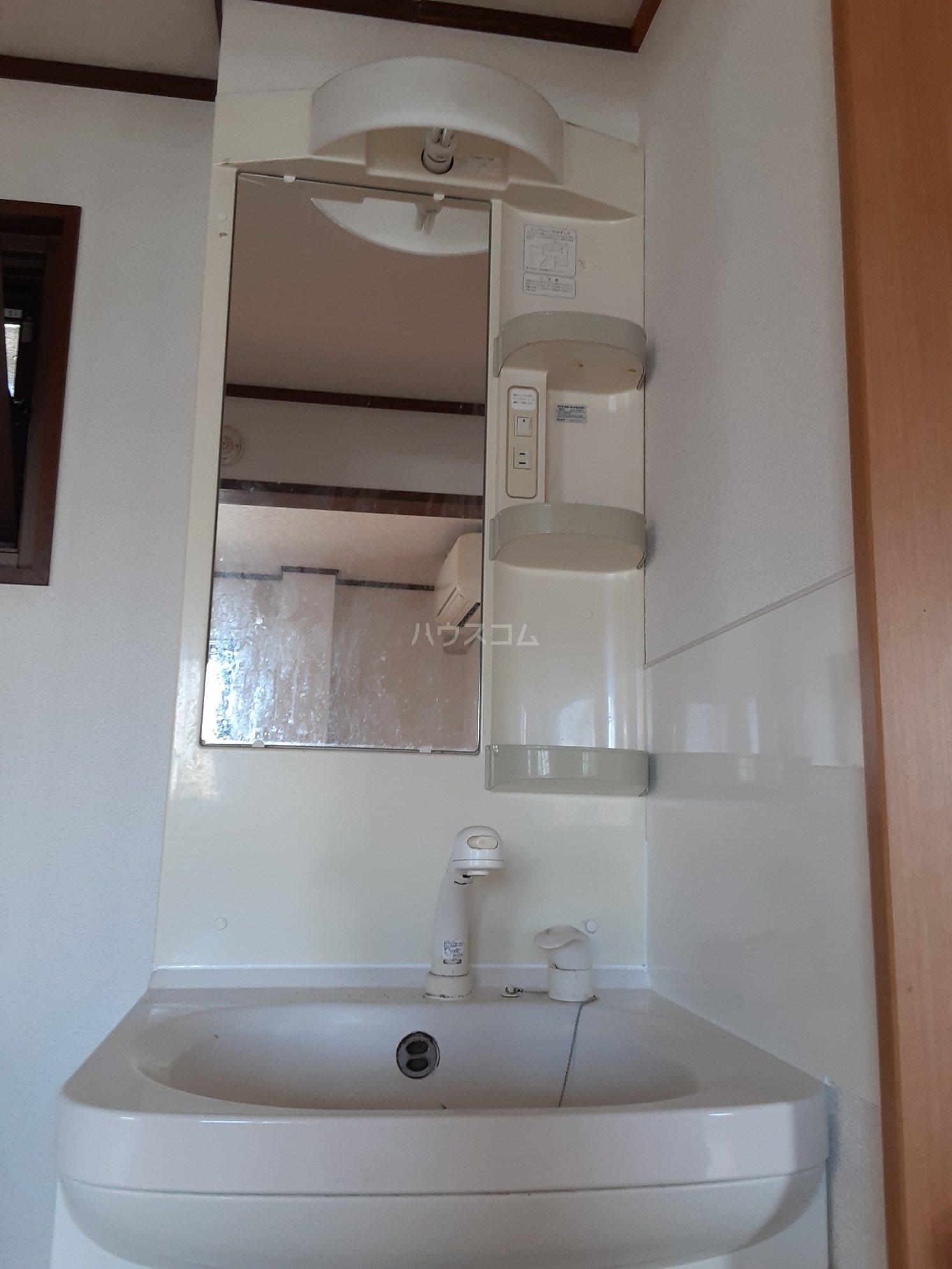 レジデンス中町 202号室の洗面所