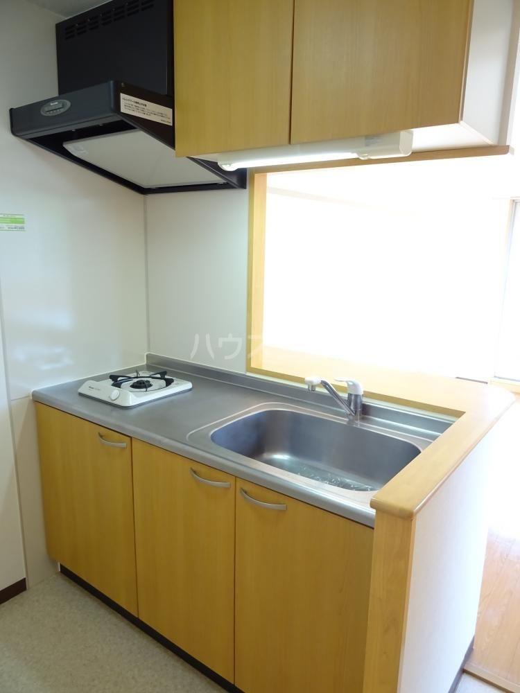 サンライフ鴨江 102号室のキッチン