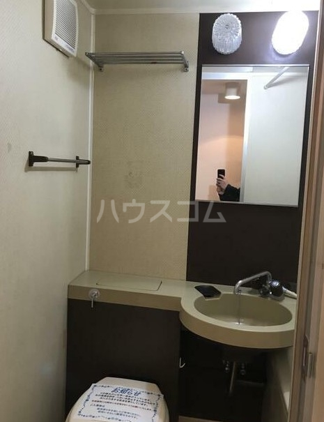 日興パレセゾン新宿 102号室の洗面所