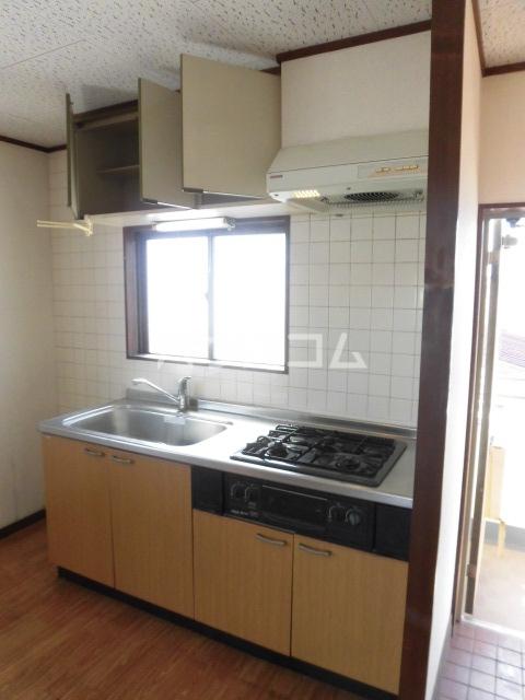 ベルカーサ船橋 202号室のキッチン