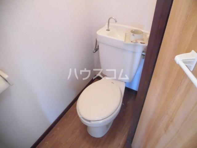 ベルカーサ船橋 202号室のトイレ
