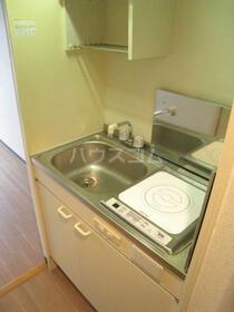 スカイコート宮崎台第3 414号室のキッチン