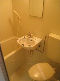 スカイコート宮崎台第3 414号室のトイレ