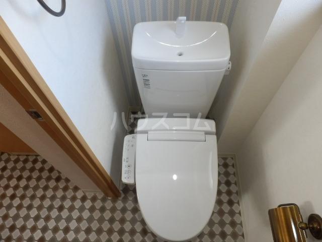 ベルメゾン矢野 205号室のトイレ