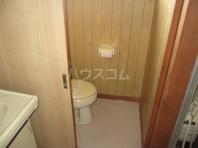 第一桐山ハイツ 203号室のトイレ