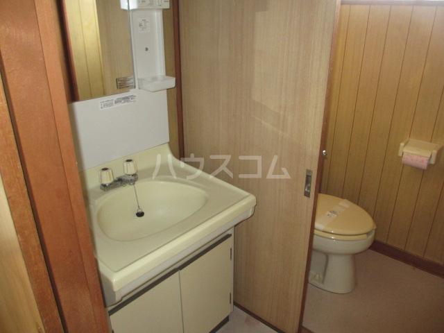 第一桐山ハイツ 203号室の洗面所