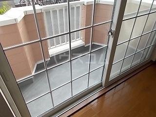グレイスⅡ 01030号室のバルコニー